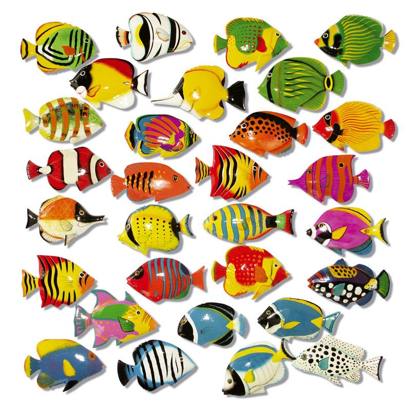 Kostenlos fische ausdrucken bilder Bunte fische