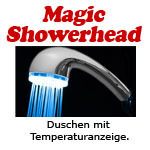 Magic Showerhead mit grünem LED Licht