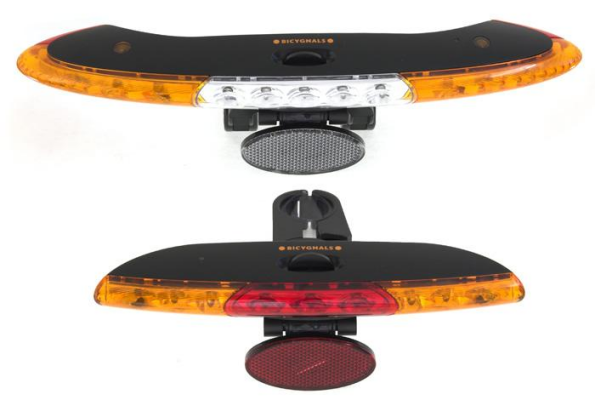 Bicygnals Front And Rear Bicycle Lights With Wirefree