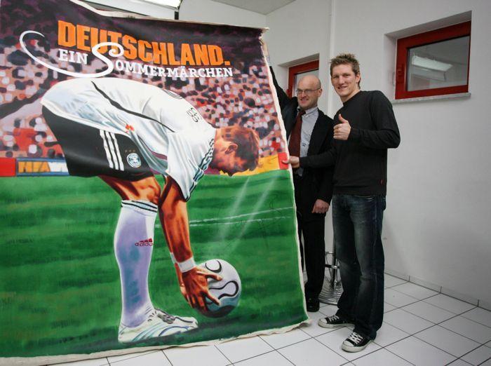 Deutschland Ein Sommermärchen Bastian Schweinsteiger Kinoplakat