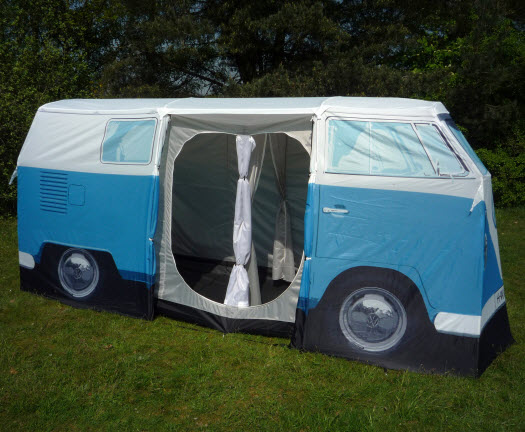 vw zelt bulli camper t1 blau geschenkidee bully campervan. Black Bedroom Furniture Sets. Home Design Ideas