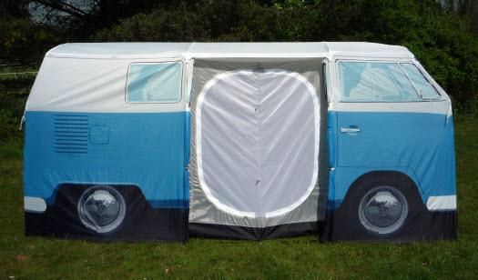 vw zelt bulli camper t1 blau geschenkidee bully campervan. Black Bedroom Furniture Sets. Home Design Ideas
