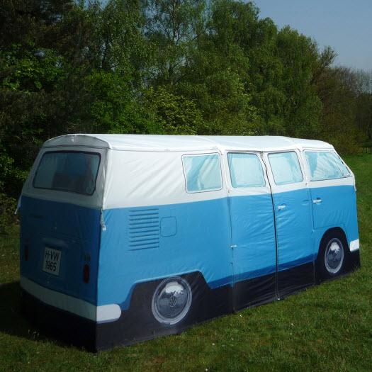 vw bus bulli camping zelt gr n volkswagen t1 retro. Black Bedroom Furniture Sets. Home Design Ideas