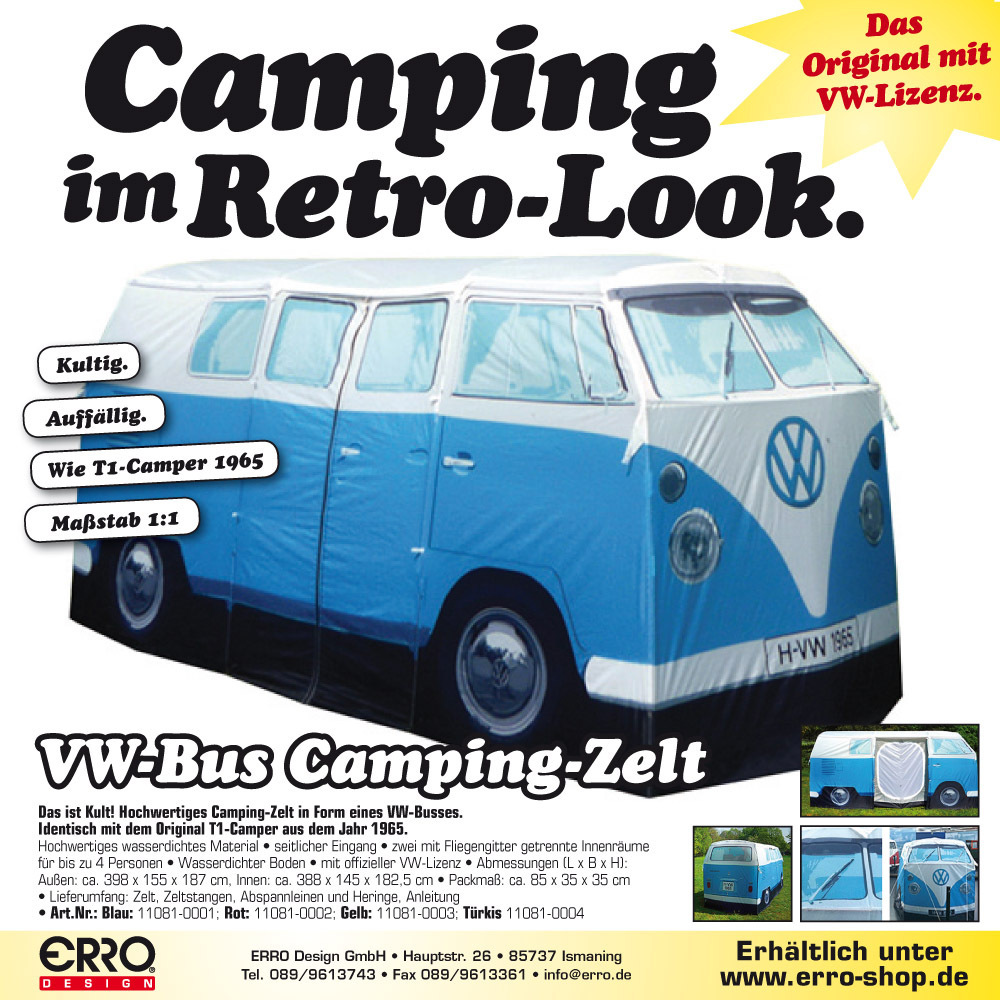 Vw camper van t1 bulli tent thecheapjerseys Choice Image