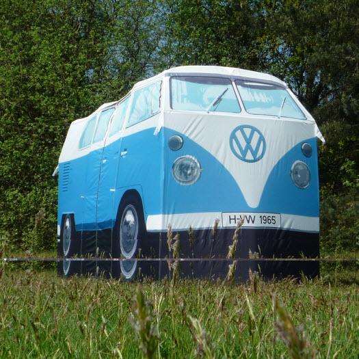 vw bus zelt t1 blau volkswagen bulli camper tent van. Black Bedroom Furniture Sets. Home Design Ideas