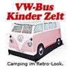 VW Bus Kinder Zelt T1 in rosa