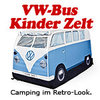 VW Bus Kinder Zelt T1 in blau