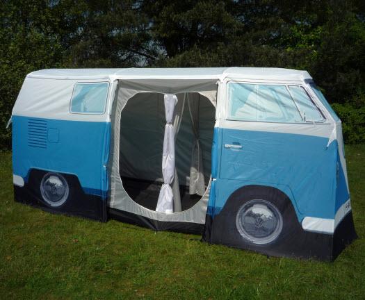 vw bus camping zelt t1 blau gebraucht volkswagen bulli. Black Bedroom Furniture Sets. Home Design Ideas