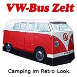 vw bus t1 bulli zelt rot campingzelt camper. Black Bedroom Furniture Sets. Home Design Ideas