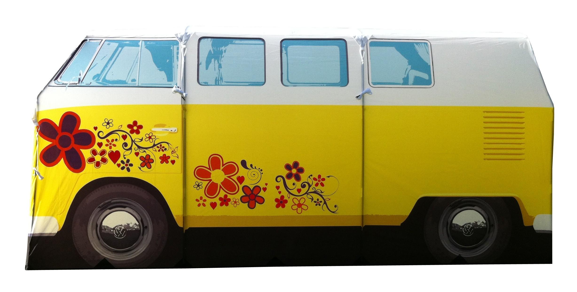 vw bus zelt bulli camper t1 hippielook gelb camper. Black Bedroom Furniture Sets. Home Design Ideas