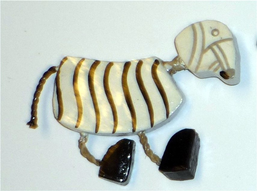 magnet wackelmagnet zebra kinderzimmer deko magnete. Black Bedroom Furniture Sets. Home Design Ideas