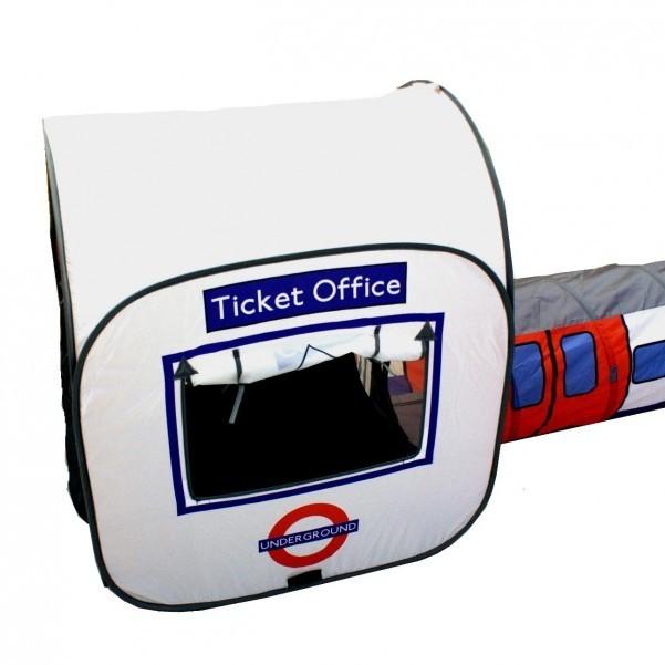 london tube u bahn zelt f r kinder geschenk spielzelt. Black Bedroom Furniture Sets. Home Design Ideas