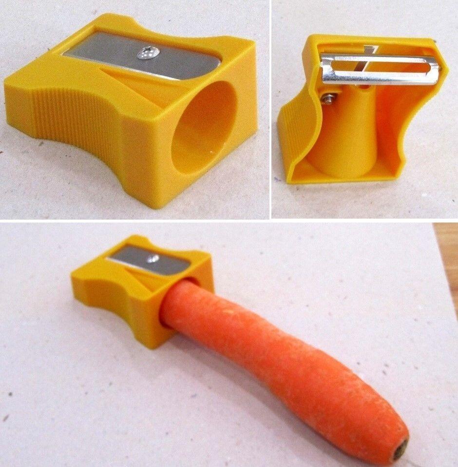 Karoto Gemüsespitzer und -schäler. orange. Für dekroatives Obst | {Schäler 58}