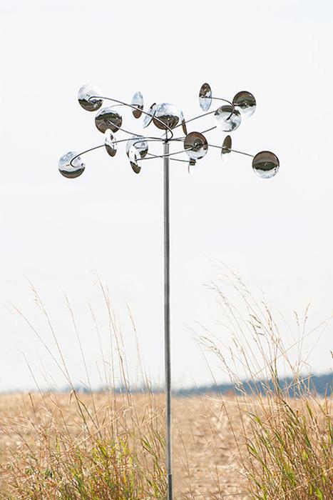 Wind Dancer Orbiter - Windspiel Gartendeko, POW2675, Außendekoration