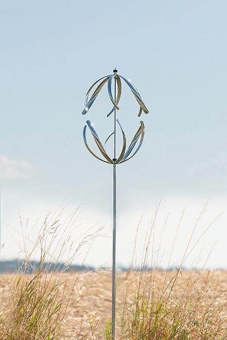 gartendeko edelstahl windspiel | möbelideen,