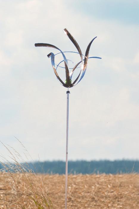wind dancer tulpe windspiel gartendeko deko