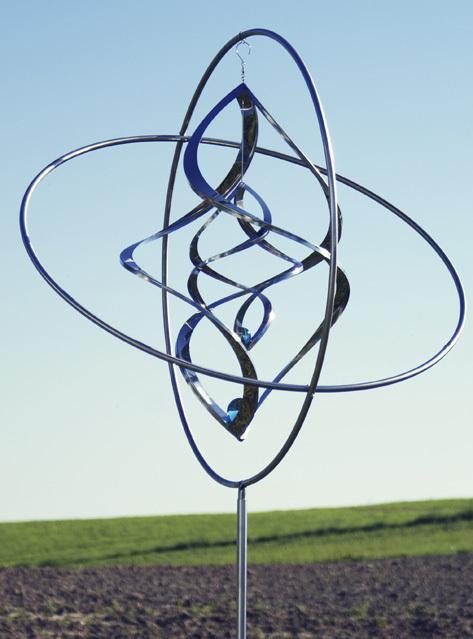 gartendeko edelstahl windspiel – spinjo, Terrassen ideen