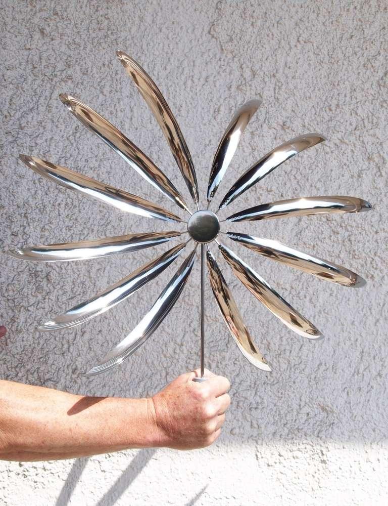 Winddancer Impression - Outdoor Dekoration Edelstahl, Windspiel