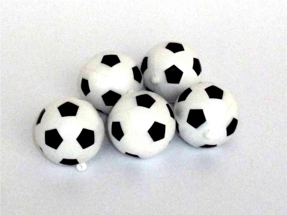 Kunststoff Fussballe 5er Set Fussball Deko Fur Fans