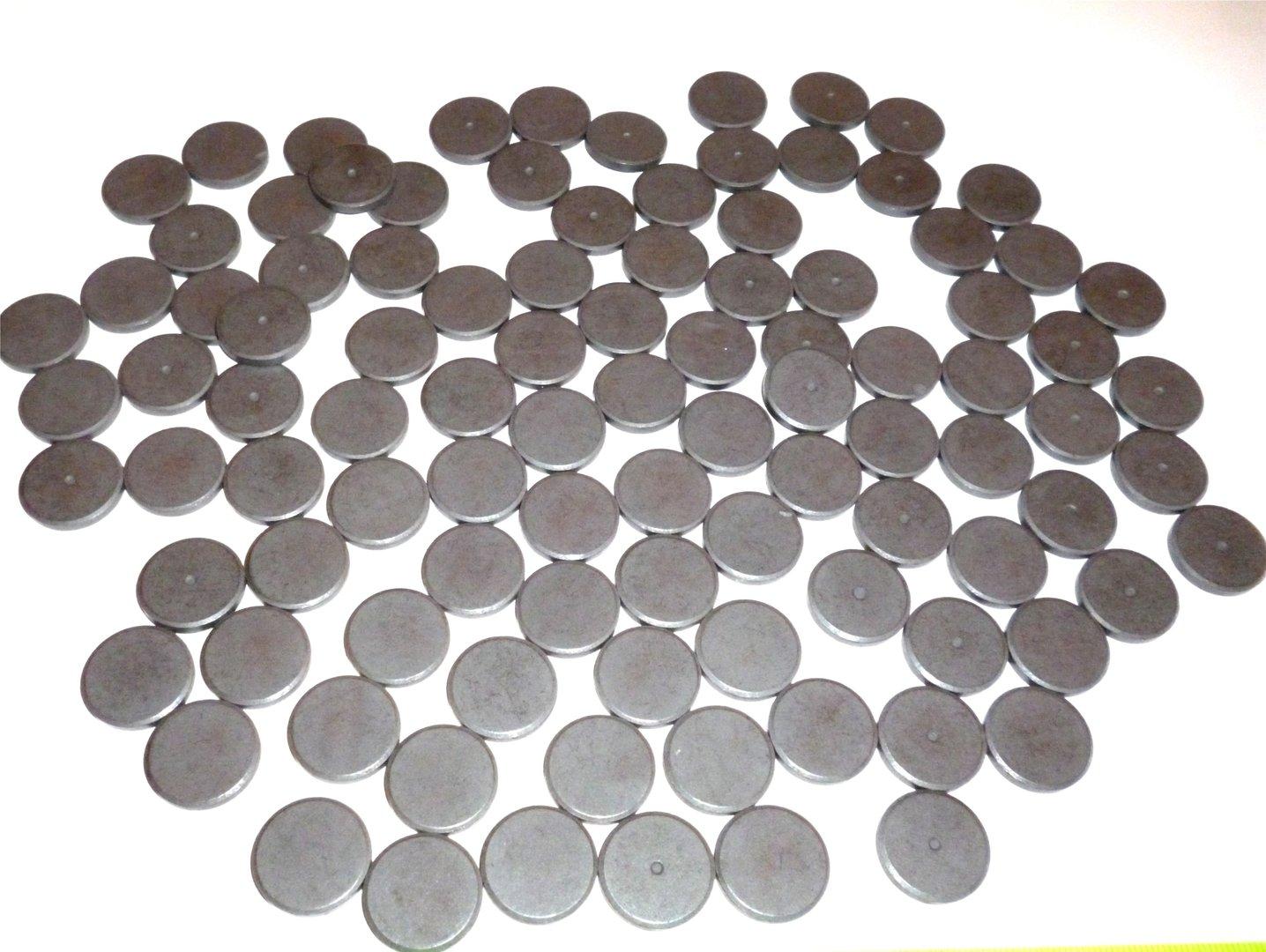 100er set magnete zum basteln dm 20mm x 3mm do it yourself deko. Black Bedroom Furniture Sets. Home Design Ideas