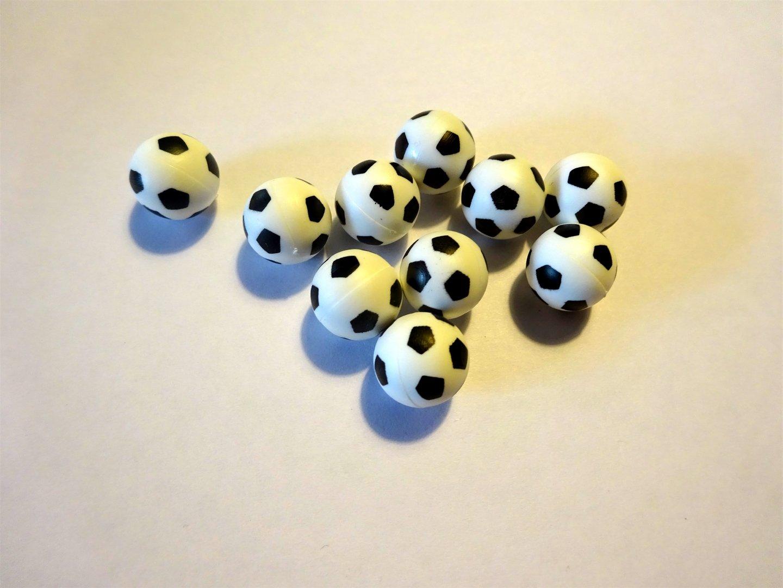 Mini Fussballe 10er Set Dm 12mm Fussball Deko Fur Fans