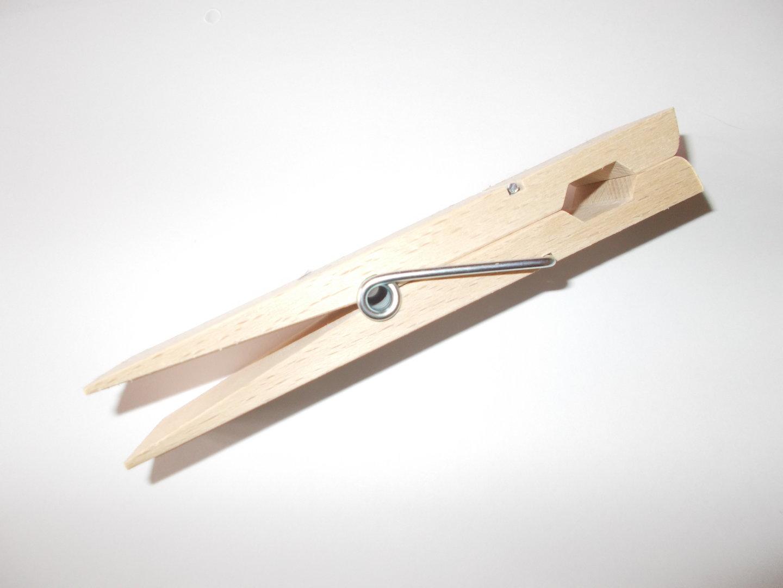 Riesen Holzklammer 150mm Aus Buchenholz Xxl Holz Wascheklammer